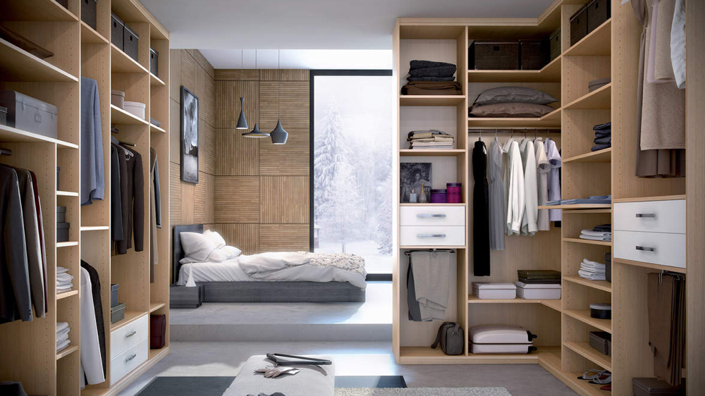 bien int grer son dressing sa chambre. Black Bedroom Furniture Sets. Home Design Ideas
