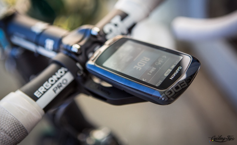 garmin edge 810 test